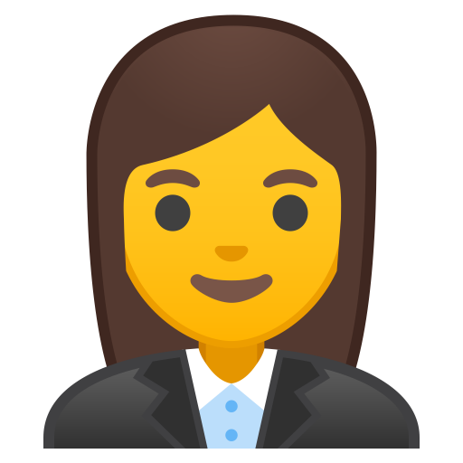 Woman Office Worker Icon Noto Emoji People Profession Iconset