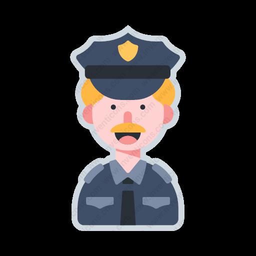 Download Avatar Police,avatar,police Icon Inventicons