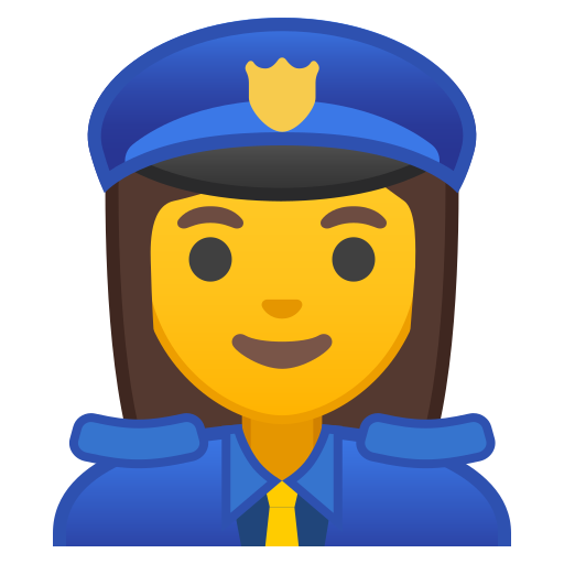 Woman, Police, Officer Icon Free Of Noto Emoji People Profession