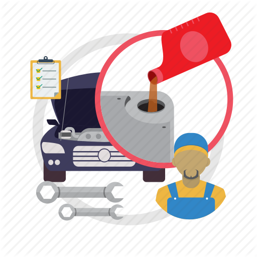 Change, Oil, Oil Change Service, Service Icon