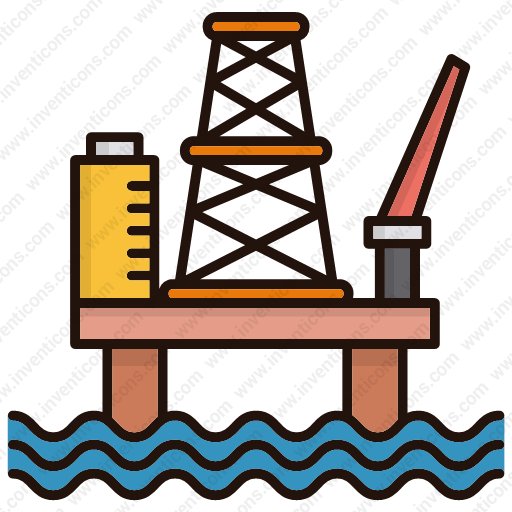 Download Oil,platform Icon Inventicons
