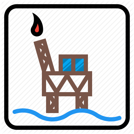 Drilling, Fuel, Gas, Industry, Oil, Rig Icon