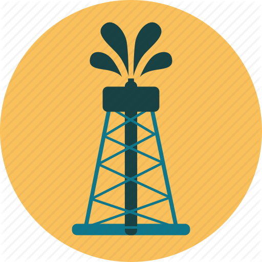 Derrick, Energy, Fuel, Gusher, Industry, Oil, Rig, Well Icon