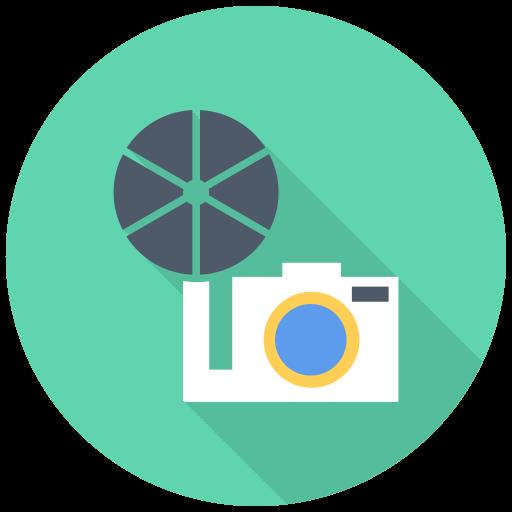 Old Camera Icon Free Flat Multimedia Iconset Designbolts