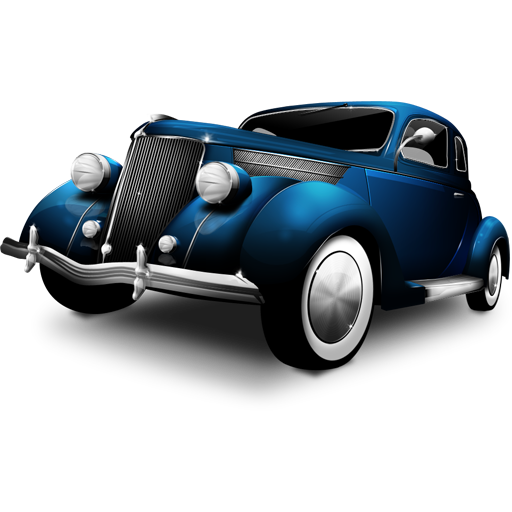 Old Time Car Icon