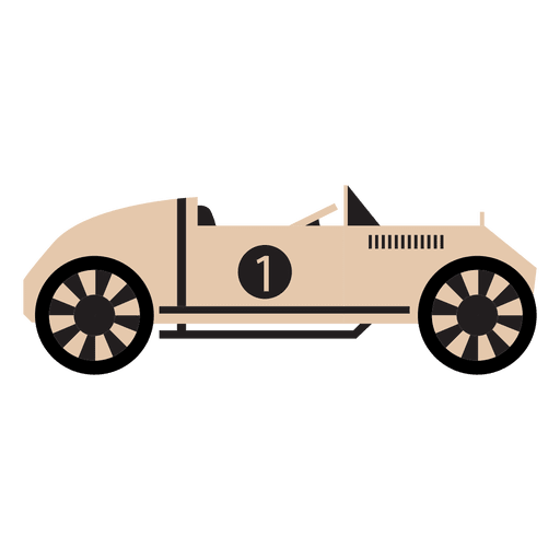 Old Style Race Car Racing