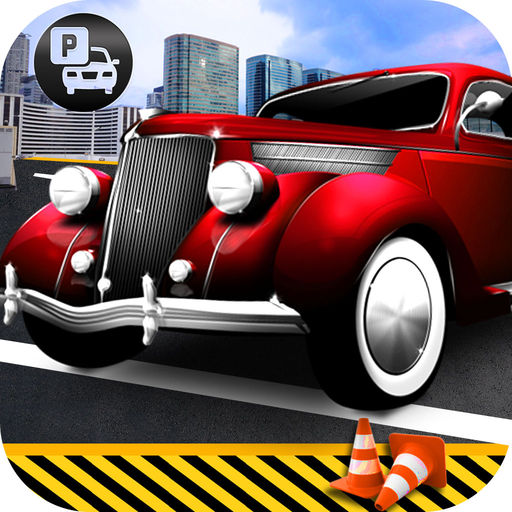 Russian Classic Parking Free Old Car Drive R