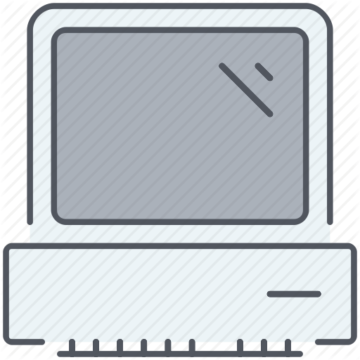 Computer, Desktop, Device, Machine, Old, Old Computer, Technology Icon