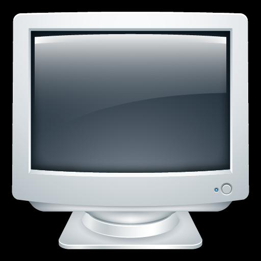 Desktop, Monitor, Crt, Computer Icon