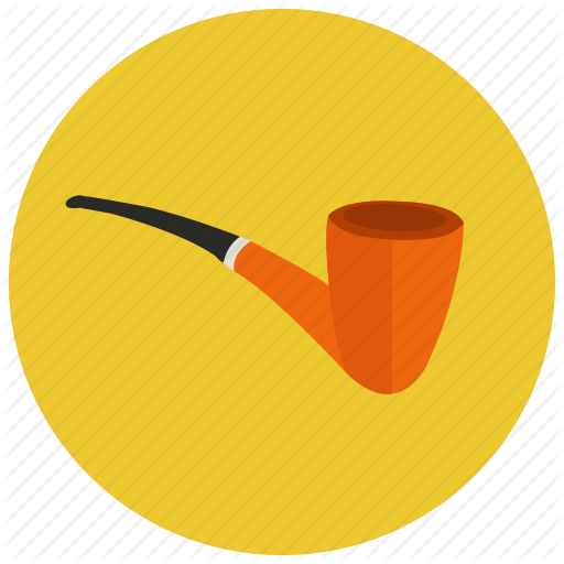 Old Fashioned, Pipe, Retro, Smoking, Vintage Icon
