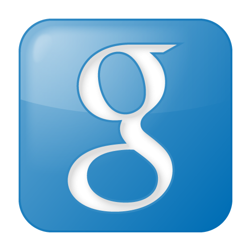 Social Google Box Blue Icon Social Bookmark Iconset Yootheme