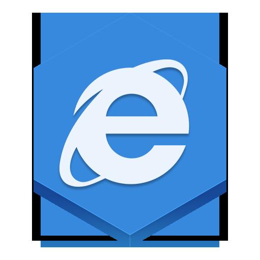Internet Explorer Icon Hex Iconset