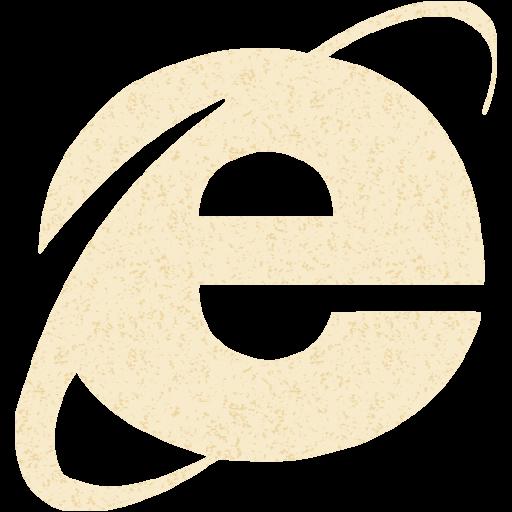 Old Paper Internet Explorer Icon