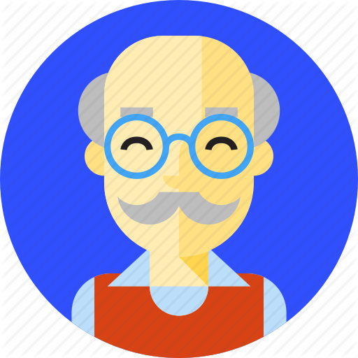 Aged, Aged Man, Geezer, Grey Headed, Old, Oldman, Oldster Icon