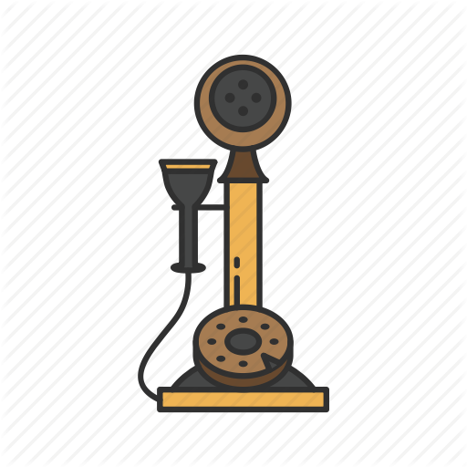 Classic Phone, Old Phone, Telephone, Vintage Phone Icon