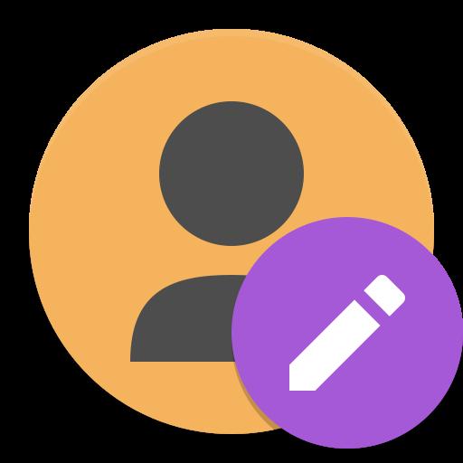Contact Editor Icon Papirus Apps Iconset Papirus Development Team