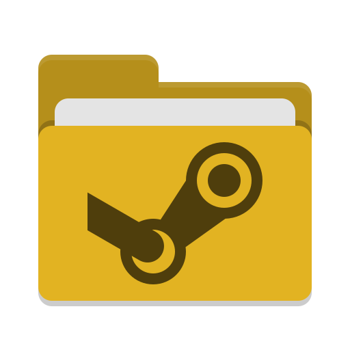 Folder Yellow Steam Icon Papirus Places Iconset Papirus
