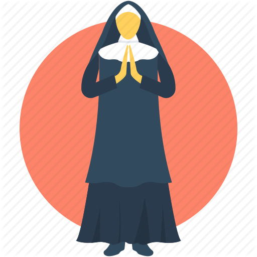 Abbess, Christian Mother, Nun, Our Lady, Virgin Mary Icon