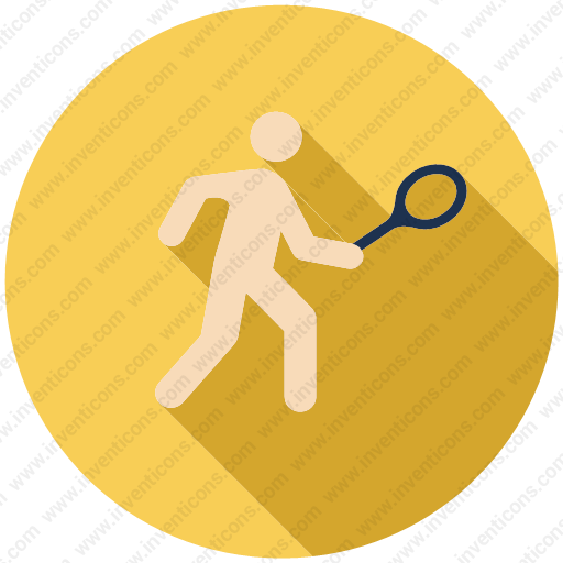 Download Sport,tennis,ball,racket,racquet,olympics Icon Inventicons