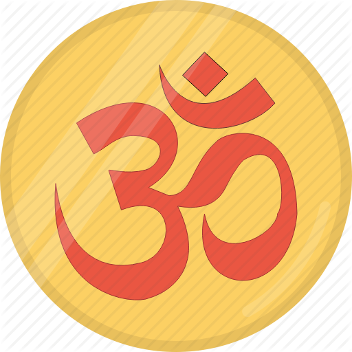 Coin, Diwali, Festival, Hindu, Indian, Om, Omkar Icon