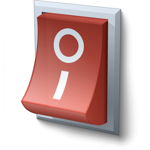 Iconexperience V Collection Switch Off Icon