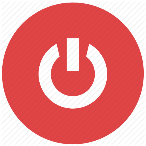 Media, Player, Power, Shutdown, Turn Off Icon