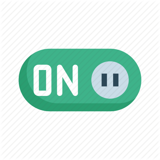 Active, Button, On, Switch, Toggle Icon