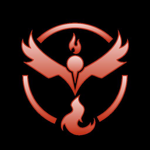 Team, Pokemon, Valor, Go Icon