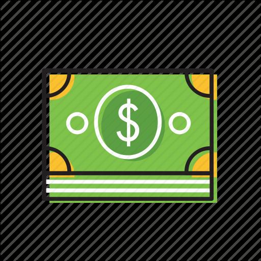Bill, Dollar Currency, Dollarbill, One Dollar Icon