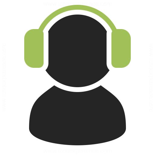 User Headphones Icon Iconexperience