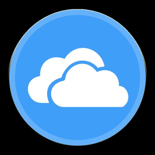 Onedrive Icon Button Ui
