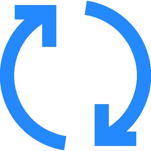 Arrows Circular Arrow Flat Icon