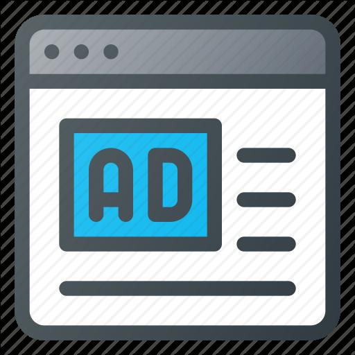 Ad, Advertising, Marketing, Online Icon