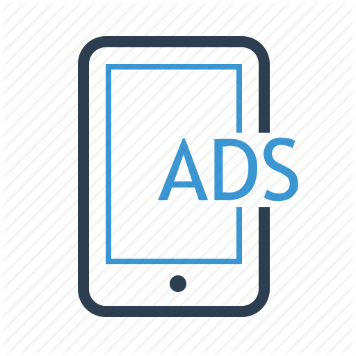 Ads, Advertising, Mobile, Monetization Icon