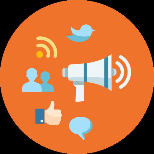 Rss, Social Media, Network, Internet Marketing, Comment, Bullhorn