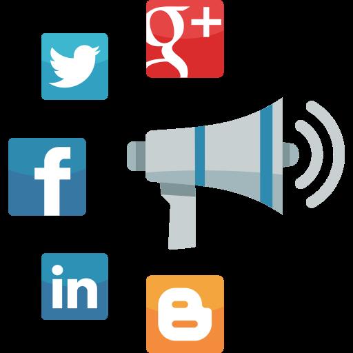 Social Media Advertising Icon