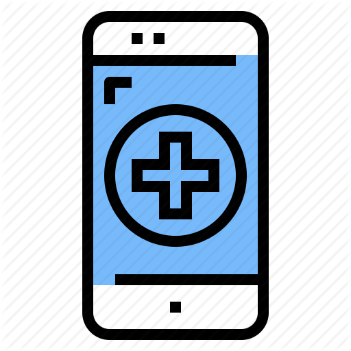 Ambulance, App, Application, Hospital, Online, Treatment Icon