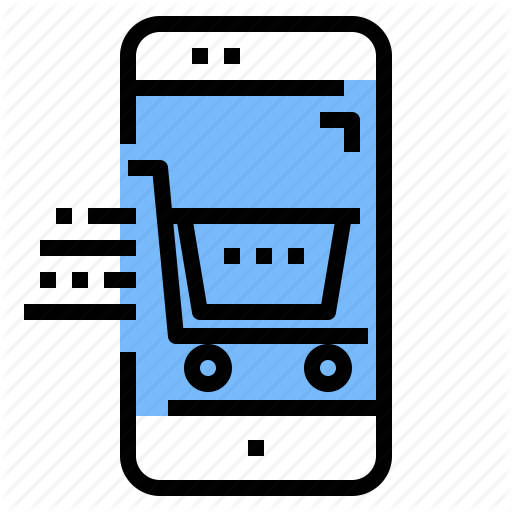 App, Application, Mobile, Online, Shop, Shopping Icon
