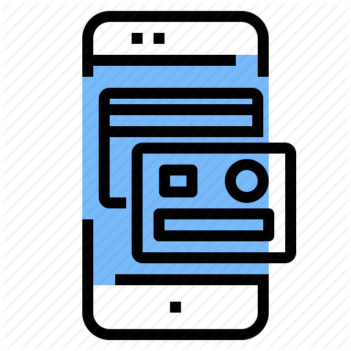 Application, Card, Credit, Mobile, Online, Payment Icon