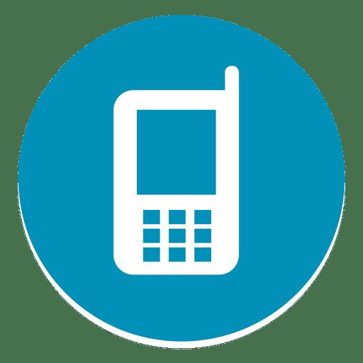 Mobile Round Icon