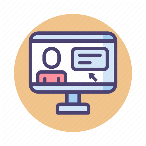 Course, Online, Online Course Icon