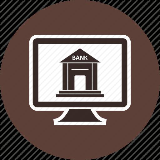 Bank, Banking, Banking Services, Internet Banking, Online Banking Icon