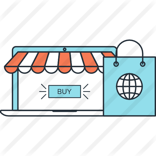 Online Shopping Icon Png Png Image