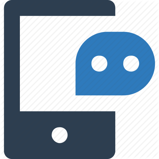 Chat Bubble, Mobile Chat, Online Chat, Online Support Icon