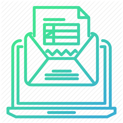 Knowledge And Education, Mail, Message, Online, Test Icon