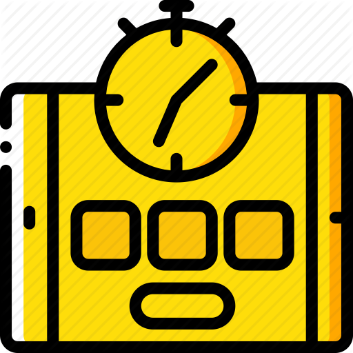 Online Icon Course Yellow