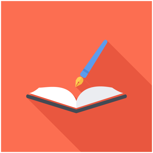 Open, Book, Pen Icon Free Of Books Reading Icons
