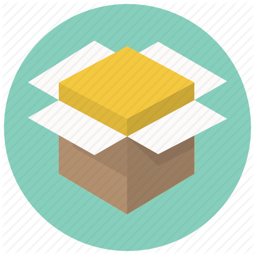Package, Shipping, Delivery, Product, Open, Box, Shippment Icon