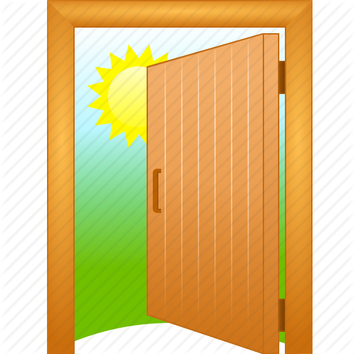 Close Session, Exit, Go Away, Log Out, Login, Logout, Open Door Icon