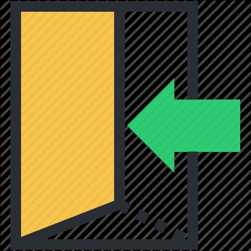 Door, Enter Door, Gate, In Door, Open Door Icon